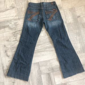 7 For All Mankind DOJO jeans, Size 28